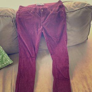 Levi's Demi curve corduroy jeans